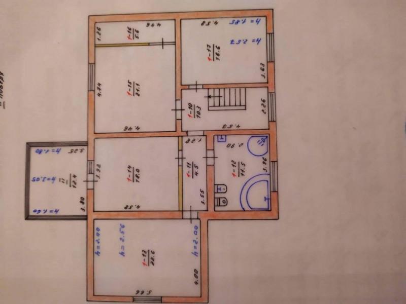 Двухэтажный дом 251 м2 в котором хочешь остаться с евро ремонтом, мебелью и бытовой техникой в Святопетровском