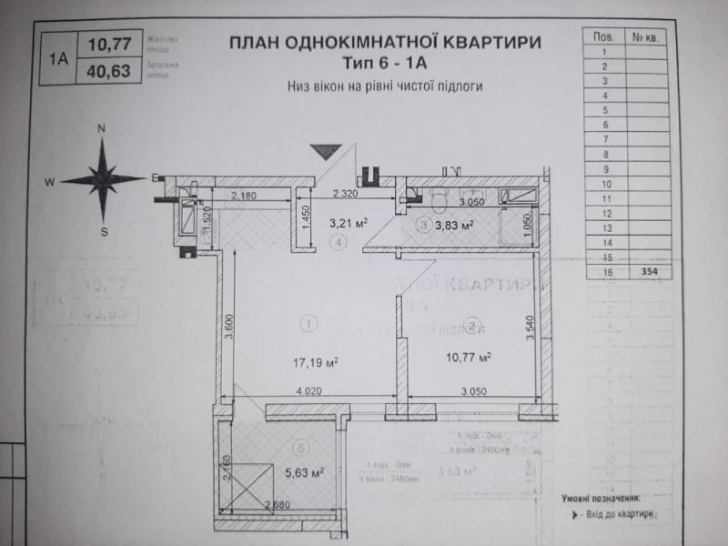 1 комнатная квартира Вашей мечты в  ЖК SKY AVENUЕ от надежного застройщика «ИНТЕРГАЛ- БУД»